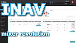 The future is here: completely new MIXER GUI for INAV! | Смотри