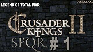 Crusader Kings 2: Ironman SPQR Achievement Challenge Part 1