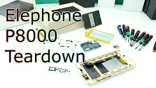 Elephone P8000 Teardown - Whats Inside of it & Stability Check ! [4K