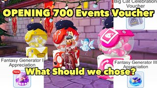 Opening 700 Big Cat Celebration Voucher - Gacha Cards is it worth