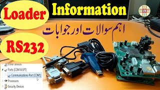 How to Choose Loader Tool and How to Set Com Port for RS-232