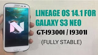 LINEAGE OS 14 1 FOR GALAXY S3 NEO GT-I9300I / I9301I | Смотри онлайн