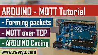 Arduino MQTT Tutorial - Coding & Live Demo using SIM900