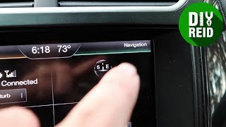 How to Enable Navigation on Ford Sync 2 | Смотри онлайн или Качай на