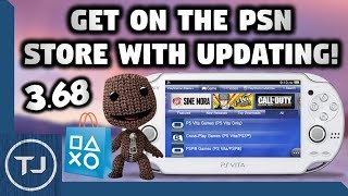 PS Vita Access The PSN Store Without Updating To 3 68! (For