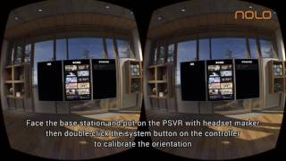 NOLO Instructions: Use NOLO with PSVR to play SteamVR