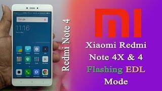 Flash Xiaomi Redmi Note 4x & 4 Snapdragon in EDL mode  Lock