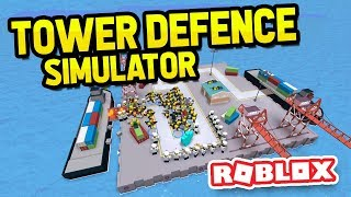 ROBLOX TOWER DEFENCE SIMULATOR | Смотри онлайн или Качай на