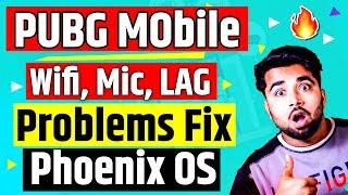 PUBG Mobile on Phoenix OS 😍 Wifi, Mic & Lag Problem FIX