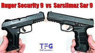 Ruger Security 9 vs Sarsilmaz Sar 9 - TheFireArmGuy | Смотри