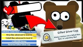 HOW TO* DEFEAT TUNNEL BEAR & GIFTED EGG REWARD!! | Roblox