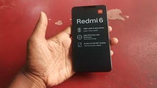 Xiaomi mi redmi 6(M1804C3DI)hard reset/pattern unlock