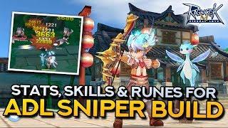 ADL SNIPER GUIDE: Stat, Skill and Rune Build | Ragnarok Mobile