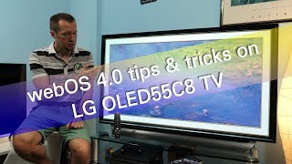 LG webOS 4 0 tips and tricks on OLED55C8 UHD OLED TV | Смотри онлайн