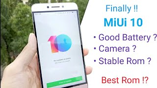 MiUi 10 for Leeco Le 2 | Full Review | Battery | Performance