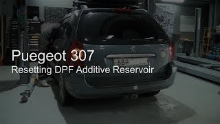 G-scan] Peugeot 307 DPF Additive Replacement + Scan Tool