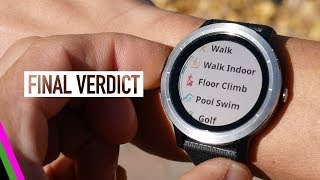 VivoActive 3 REVIEW - FINAL VERDICT after 30 days of use (EP4