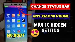 Change Status bar colour in any xiaomi phone | Redmi note 4, Redmi