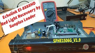 EL-8888HD Red Light Receiver Recovery With Sunplus Loader
