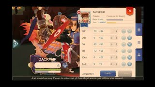 Ragnarok M Sea Paladin Cross Where I Grind (For those who are asking