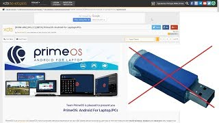 How to run Prime OS without using USB drive easiest method