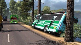 SETC Maruti bus overtaking fail | Reckless driving | Euro