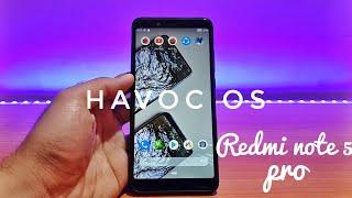 Havoc os on redmi note 5 pro | Смотри онлайн или Качай на