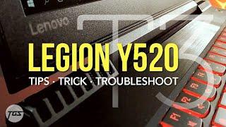 LENOVO Y520 (Part 2) | TIPS TRICK TROUBLESHOOT | Смотри
