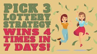 Winning Pick 3 Lottery Strategy Hits In Several States! | Смотри