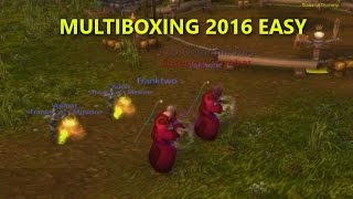 WoW BFA] Multiboxing Easy Tutorial 8 0 Script Updated