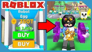 I Opened the NEW Robot Egg and Got This! - Roblox Magnet