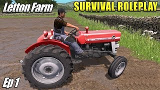 NEW GAME MODE - Survival Roleplay Farming Simulator 17