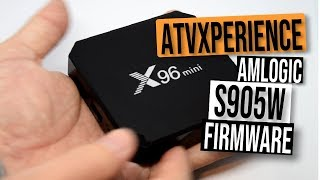 Awesome ANDROID TV Amlogic S905W Firmware - The