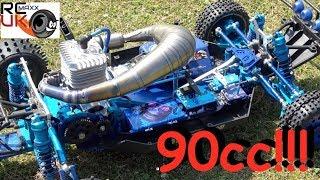 Darrens Rcmax 90cc HYBRID WOWWWWWW!!!   Смотри онлайн или