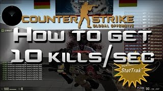 How To Farm StatTrack Kills In CS:GO - 50,000+ Kills/Hour (2019
