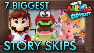 7 Biggest Story Skips in Super Mario Odyssey   Смотри онлайн