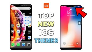 Top New IOS 2019 Themes For MIUI 10 | Make Your Device IOS | Смотри