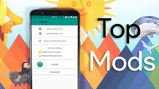 Top 10 Android Mods for Magisk Manager 2018! [ROOT] | Смотри