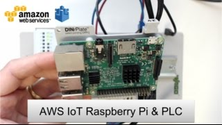 Amazon Web Services (AWS) IoT MQTT Node-RED Raspberry Pi