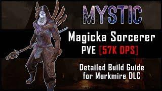 Magicka Sorcerer Build [57k DPS] - Murkmire DLC | Смотри