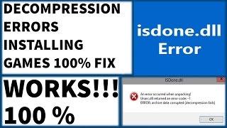 Fixinv Decompression Problem Pes 2019
