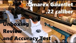 22 Umarex Gauntlet Review w/ Unboxing & Accuracy Test