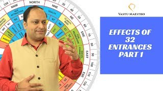 Vastu shastra tips for home - effect of 32 entrances (main