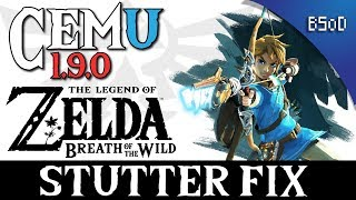 Cemu 1 9 0 | Stutter Fix | Breath of the Wild | Смотри онлайн или