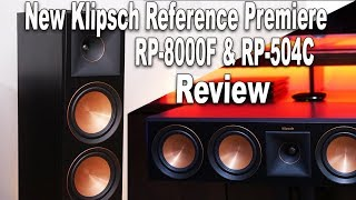 Klipsch RP-8000F & RP-504C Reference Premiere Review | RP
