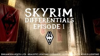 Skyrim Differentials - RLO vs  ELFX vs  URWL vs  Vanilla - A Mod