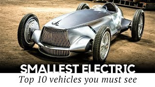 10 Surprisingly Small Electric Cars That Exist in 2018 (Review of