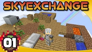 SkyExchange - Ep  1: A Different Kind of Skyblock