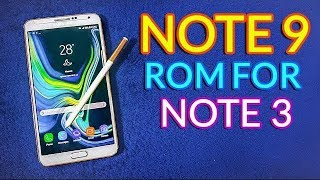 Install Galaxy Note 9 Rom on Galaxy Note 3 | Смотри онлайн
