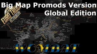 ETS2 1 33 - Big Map Promods 2 32 Version - Global Edition